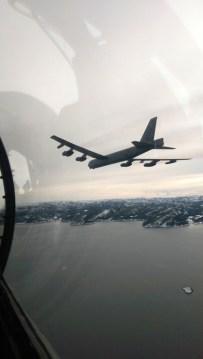 B-52H USAF alla Cold Response 2016