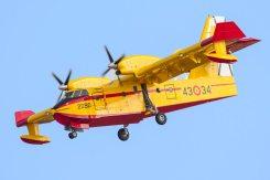 Canadair antincendio spagnoli