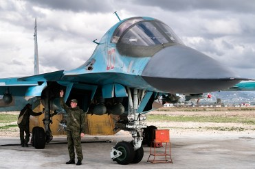 foto dei Sukhoi SU-34 Fullback Russian Air Force