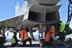 foto degli Eurofighter Typhoon italiani alla red flag negli usa