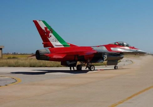 F-16 special color X gruppo aeronautica militare