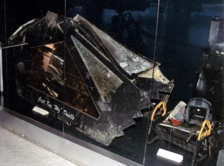 tettuccio F-117 Abbattuto in Serbia
