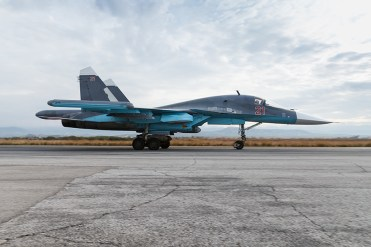 SU-34 Russian Air Force