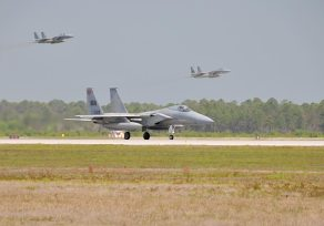 caccia americani F-15 Eagle
