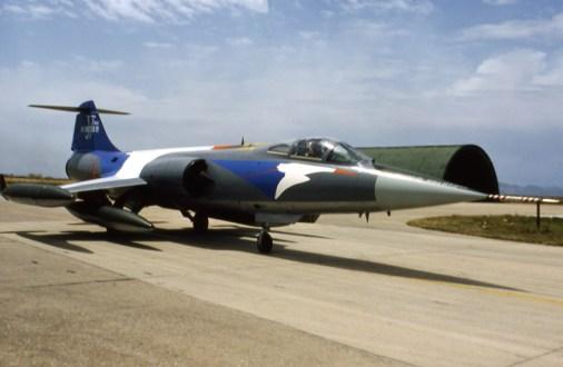 F-104 Starfighter special color Aeronautica Militare