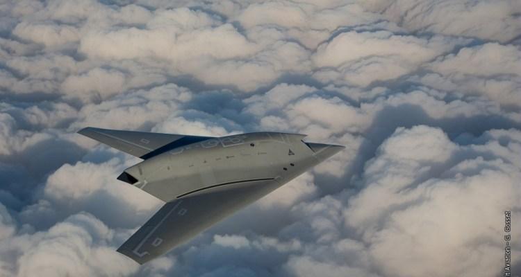 foto del nEUROn in volo