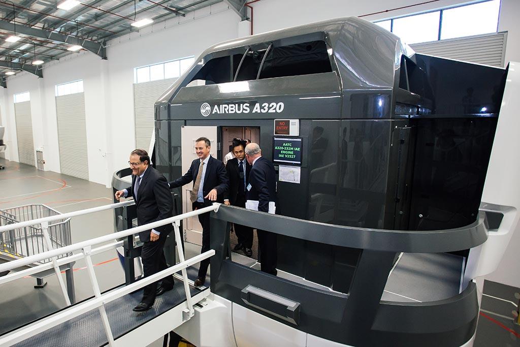 AATC simulatori di volo dell'airbus
