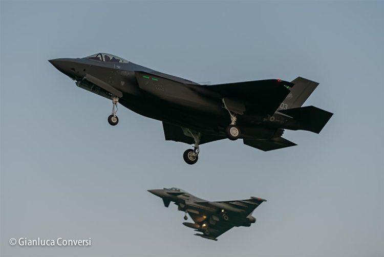 prototipo AL-3 F-35 italiani