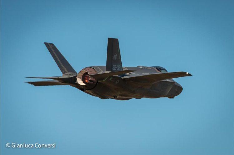 immagini degli F-35 italiani