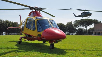 AW-109 118 elisoccorso pozzuoli