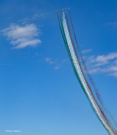frecce tricolori al loano air show 2016