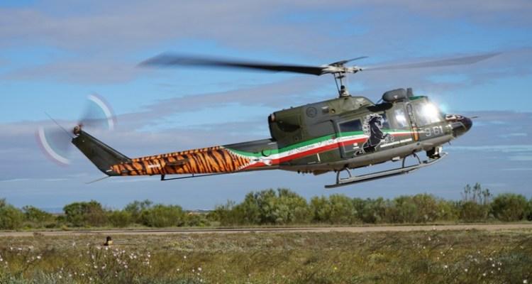 SPECIAL COLOR HH-212 IN FASE DI DECOLLO SULLA BASE AEREA DI SARAGOZZA