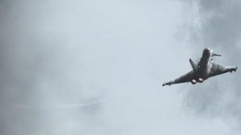 esibizione eurofighter al terracina air show 2016