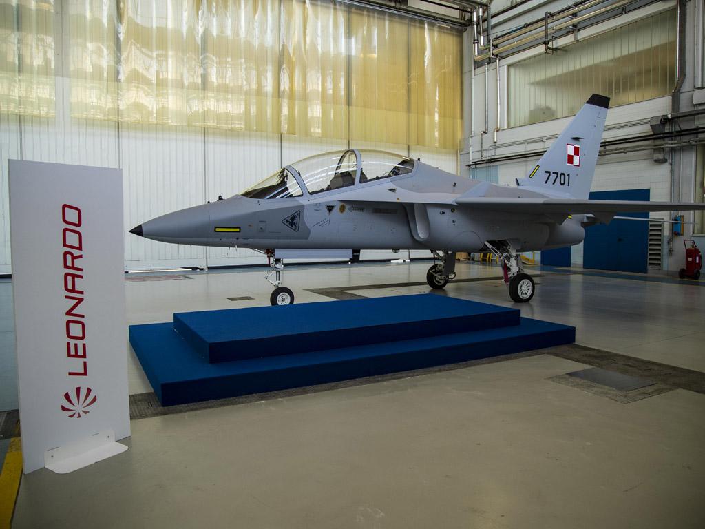 primo M346 per la Polish Air Force