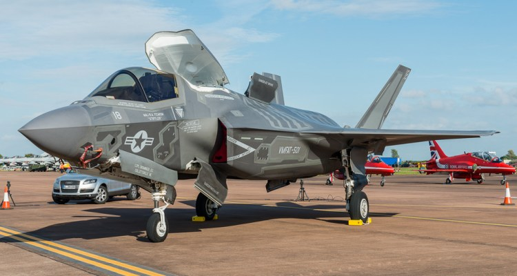 F-35B dei Marines alla Red Flag 2016