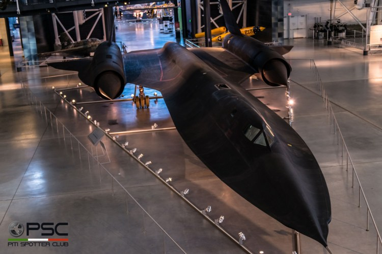 SR-71A Smithsonian Museum