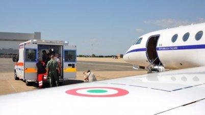 falcon 50 aeronautica militare trasporti sanitari