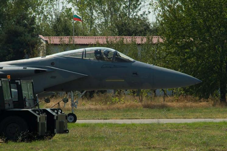 F-15C Eagle USAF Nato Air Policing Bulgaria