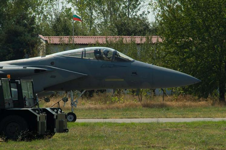 F-15C Eagle USAF Nato Air Policing Bulgaria