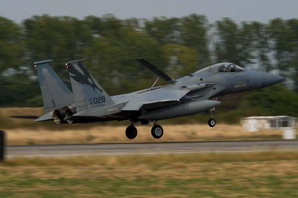 F-15C Eagle USAF Nato Air Policing