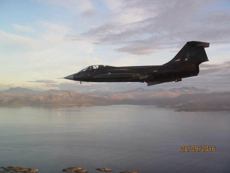 CF-104D Starfighter Norvegia