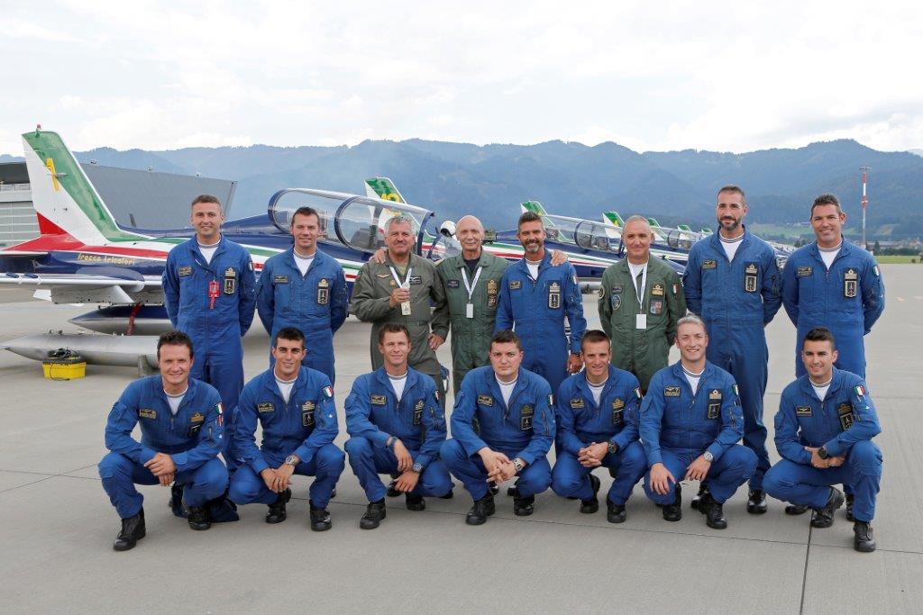 Le Frecce Tricolori a Zeltweg Airpower 2016