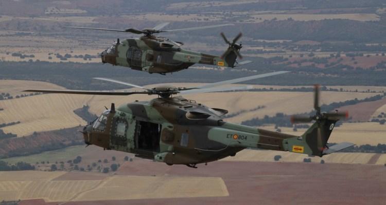 NH90 FAMET Ejercito de Tierra spagnolo