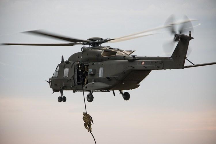 NH90 esercito italiano task force erbil