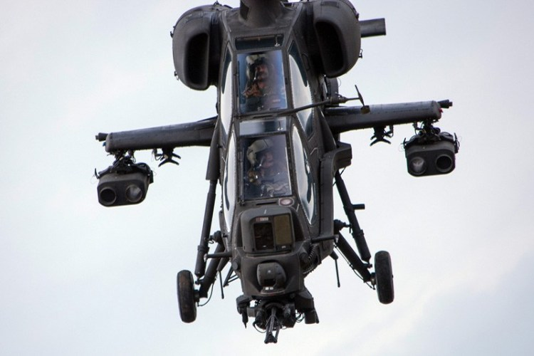AW129 Mangusta esercito italiano task force erbil
