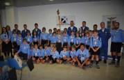 Foto di gruppo con scouts