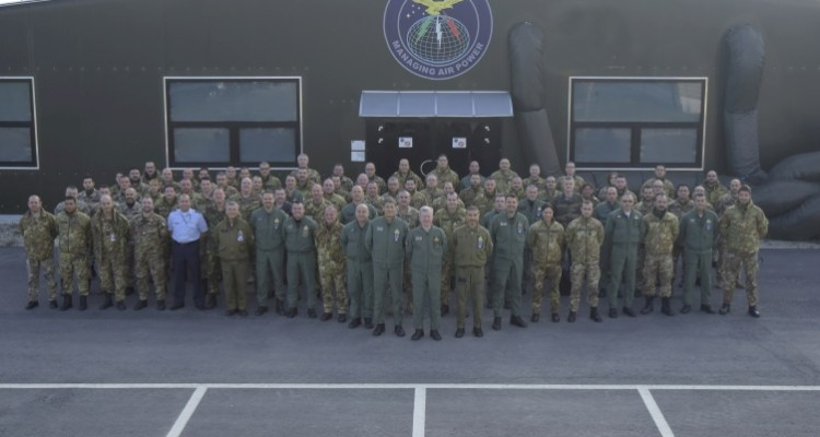 Joint Virtual Flag 2016 - ITA Joint Force Air Component