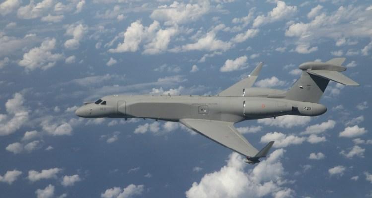 G-550 CAEW Aeronautica Militare