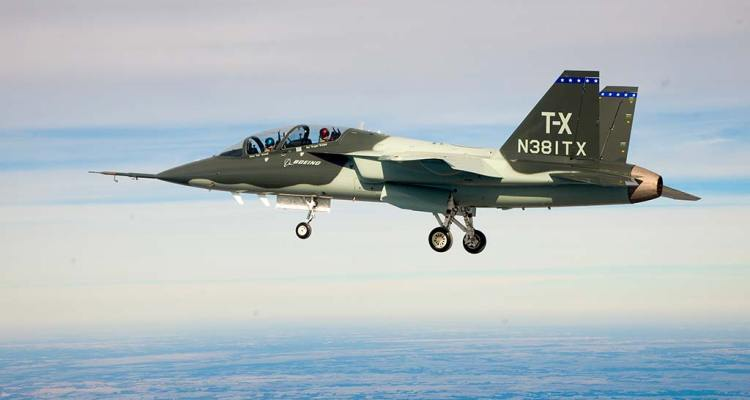 Boeing T-X in volo