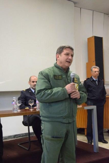 Generale Achille Cazzaniga comandante 46^ Brigata Aerea