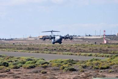 Primer Airbus A-400 en Gando_07