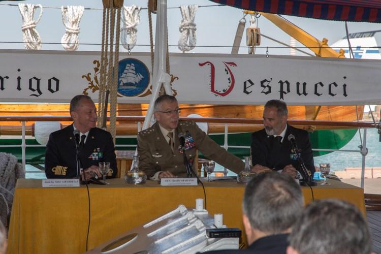 conferenza stampa Amerigo Vespucci