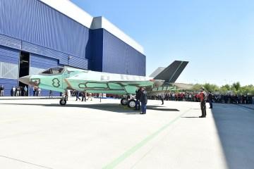 primo F-35B STOVL italiano per la Marina Militare