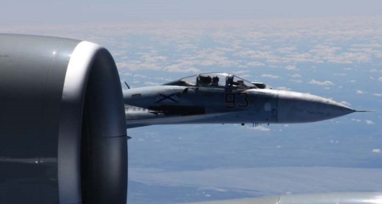 Russian Fighter Intercepts US Aircraft