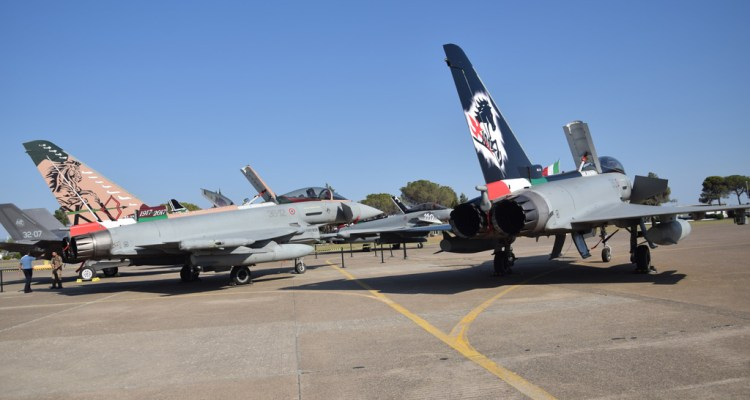 eurofighter special color aeronautica militare