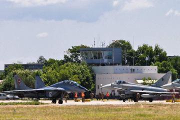 Eurofighter italiani in Bulgaria