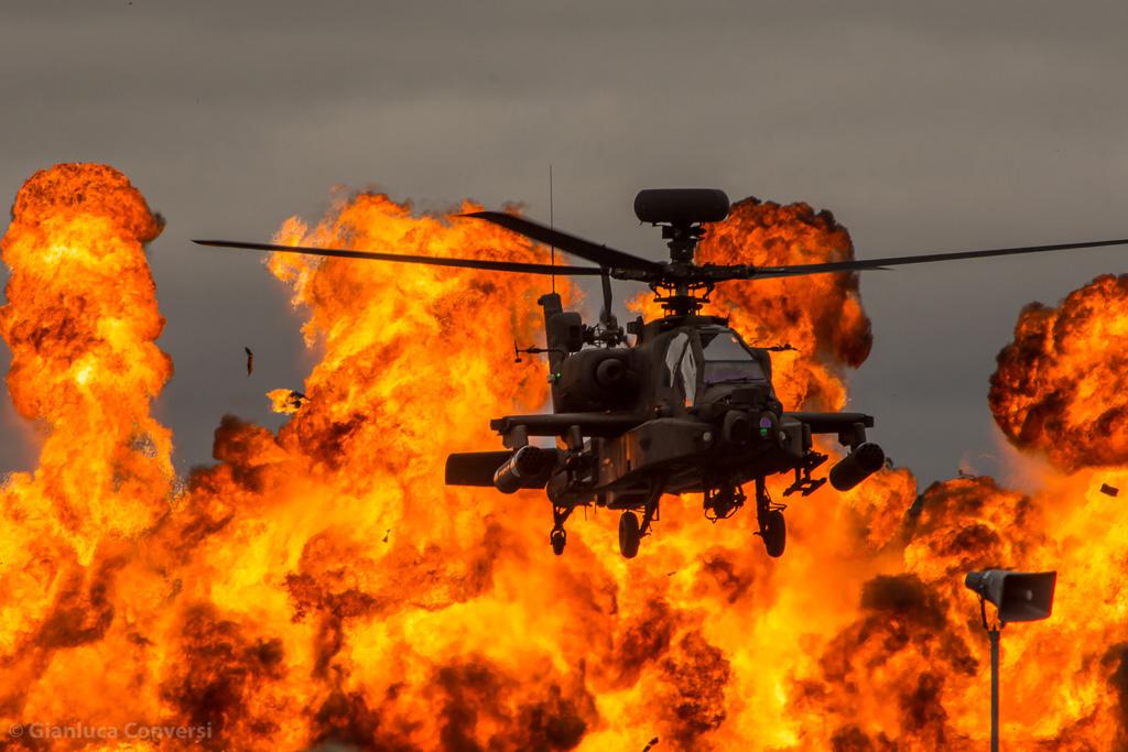 Royal International Air Tattoo RIAT 2017 Apache Royal Army