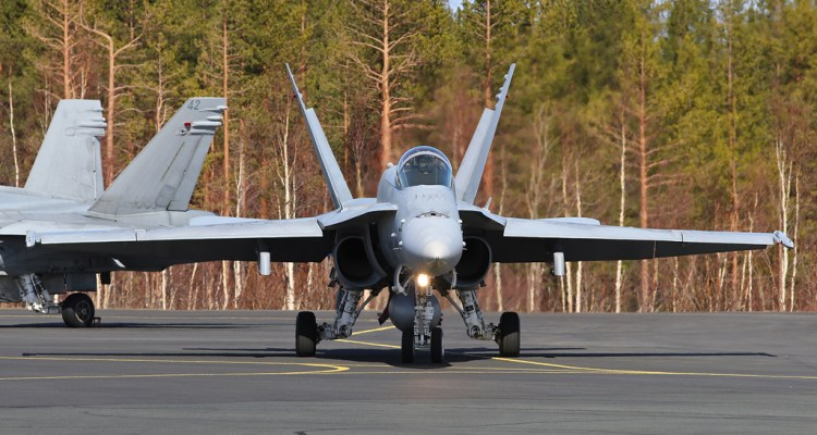F-18 Hornet Finlandia
