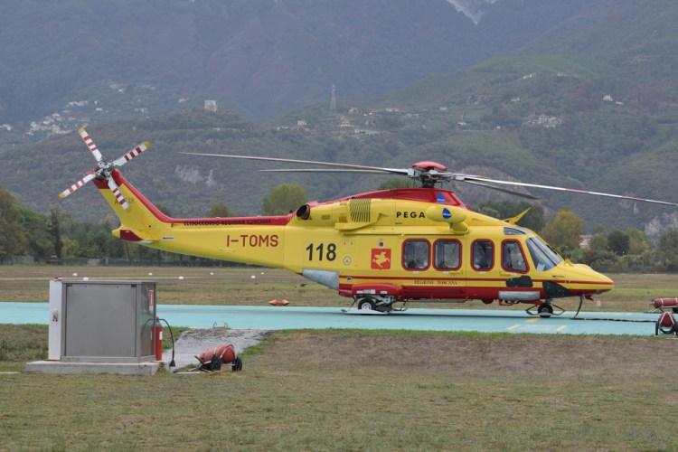 AW-139 Pegaso 3 elisoccorso Toscana