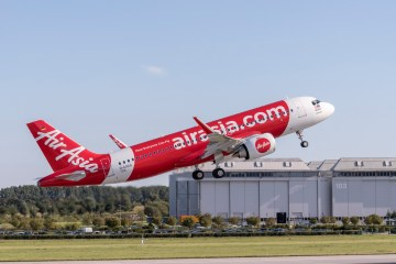 A320neo delivery AirAsia