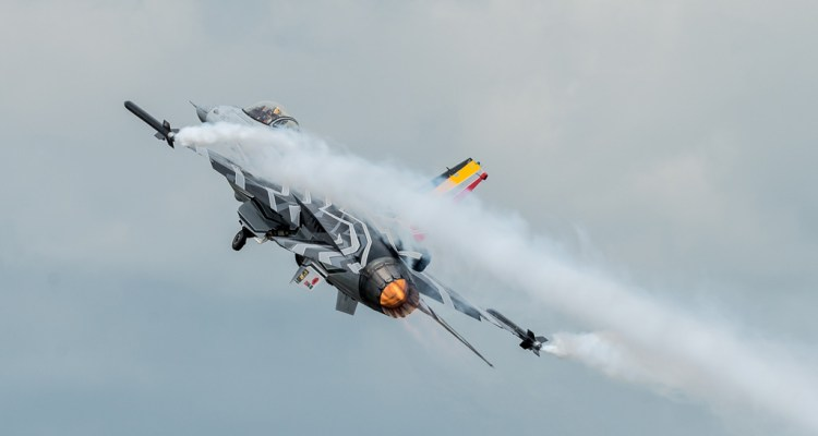 F-16 Demo Team Belgian Air Component