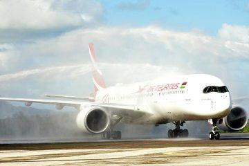 First A350XWB Air Mauritius