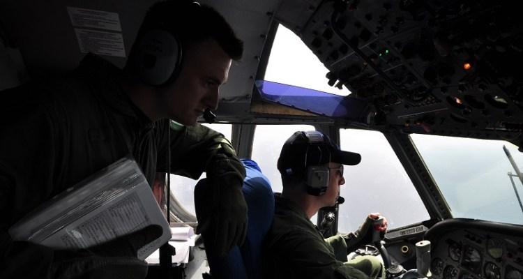 Pilota del 41° Stormo in addestramento