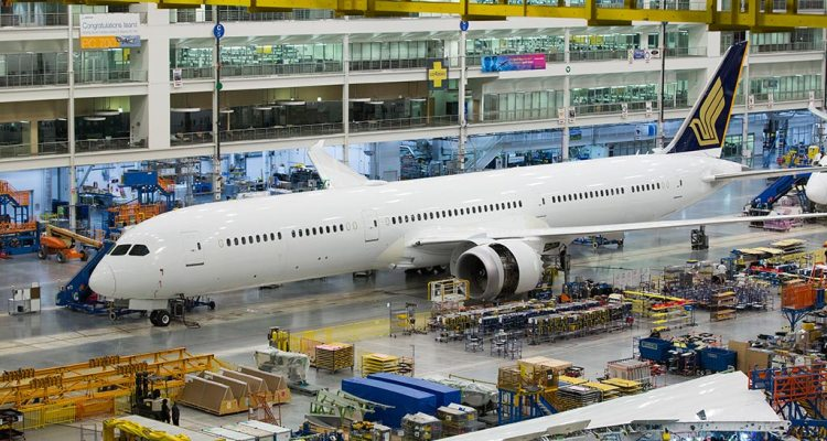 Singapore Airlines B-787-10 Dreamliner