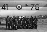 1986 Prima della partenza per una trasvolata atlantica