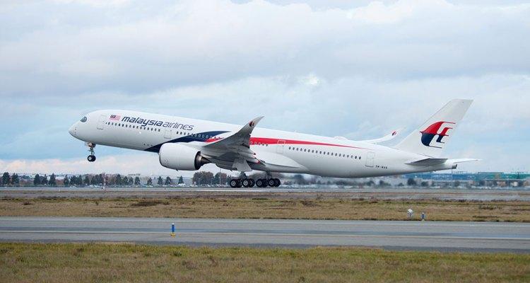 primo Airbus A350-XWB per Malaysia Airlines